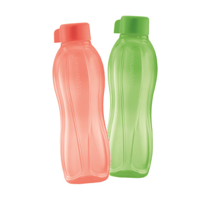 Tupperware Eco Bottle 500ml Salmon Honeydew