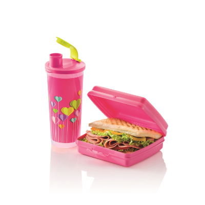 Tupperware kids trendy lunch set
